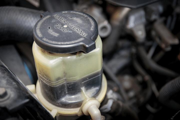Power Steering Overflows When Shut Off