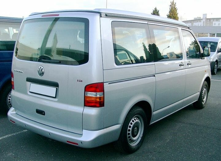 Best Car Seat For VW T5