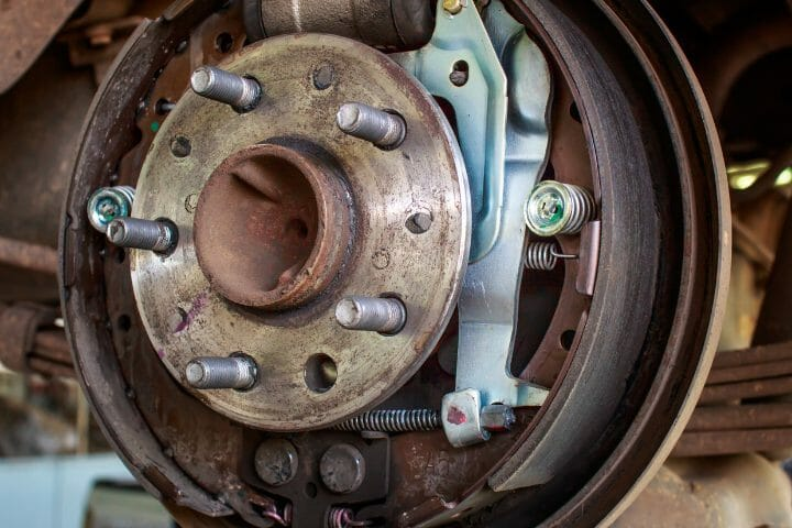 What Size Bolt To Remove Brake Drum