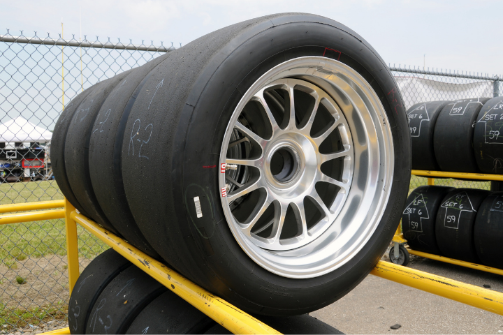 Why Do Race Cars Have Wide Tires