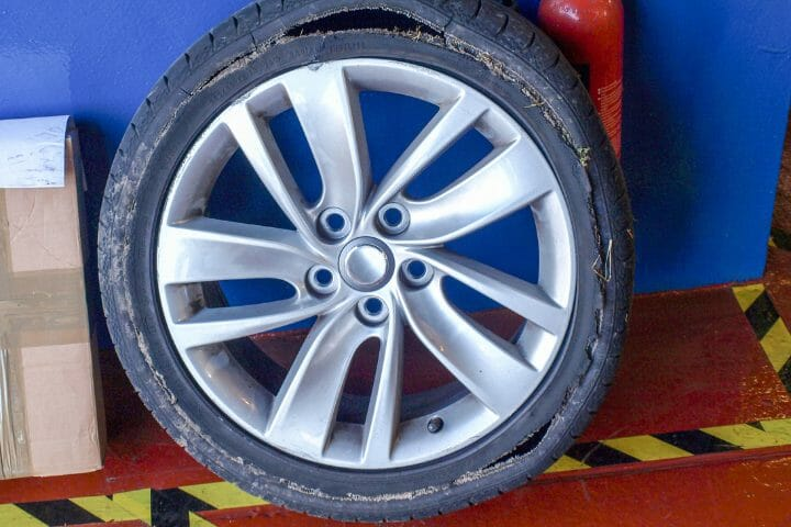 What Causes A Tire To Shred